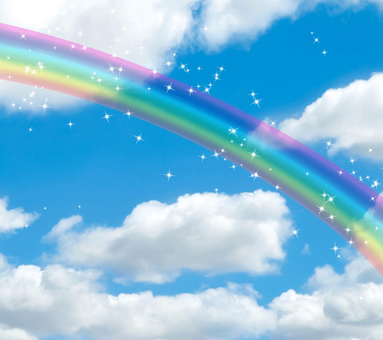 虹の風景が印象的な人気の待ち受け画像 Vivian